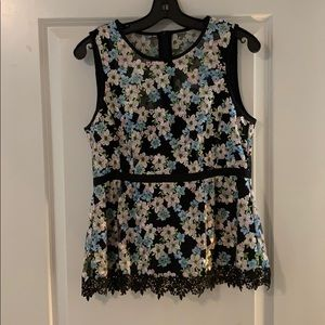 Nanette Lepore blouse, size 8, fits like a 6